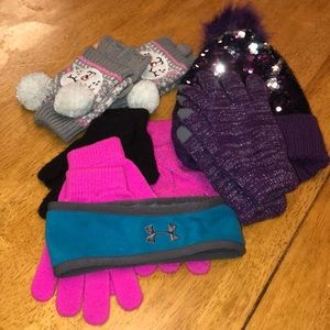 Youth girls cold weather bundle